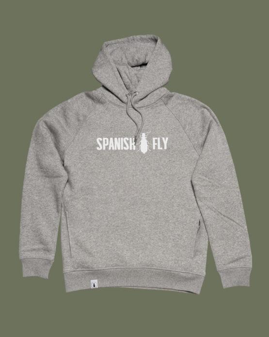 Grijze hoodie spanish fly