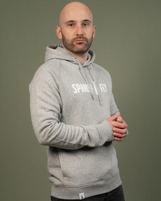Grijs hoodie Spanish Fly Clothing