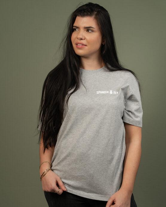 Grijs T-Shirt Spanish Fly Clothing