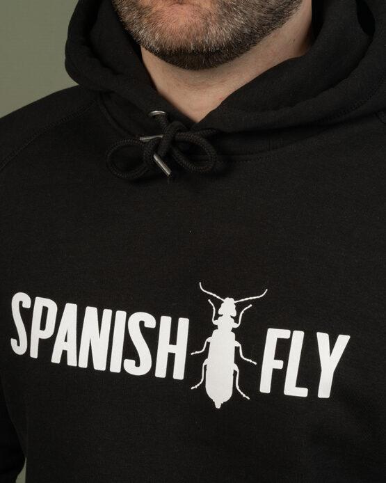 Zwart Hoodie Spanish Fly Clothing